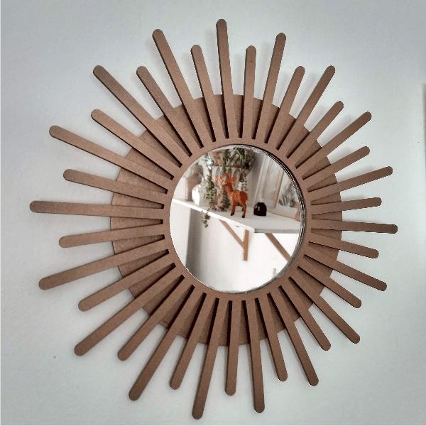 espejo sol gold rose